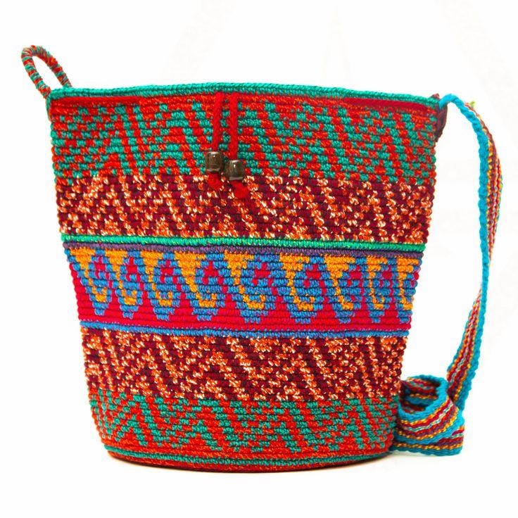Oaxaca Large Mochila Bag - 25% OFF – MOCHILA WAYUU BAGS | Handmade by the Wayuu People