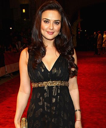 Preity Zinta shares her views on size issues!