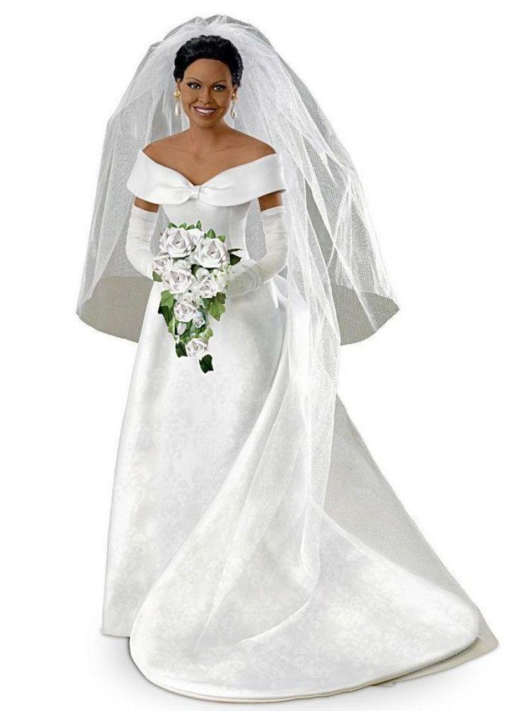 Michelle Obama Commemorative Bride Doll