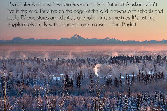 Quotes About Alaska. QuotesGram
