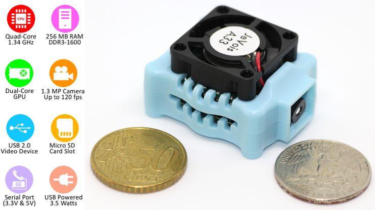 JeVois: Open-Source Quad-Core Smart Machine Vision Camera miniatura de video del proyecto