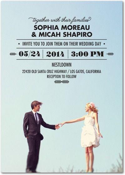 25+ best ideas about unique wedding invitation wording on, Wedding invitations