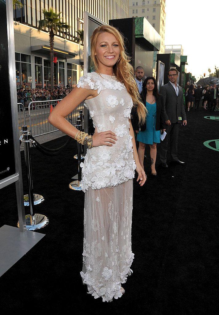 Blake Lively at Green Lantern Premiere