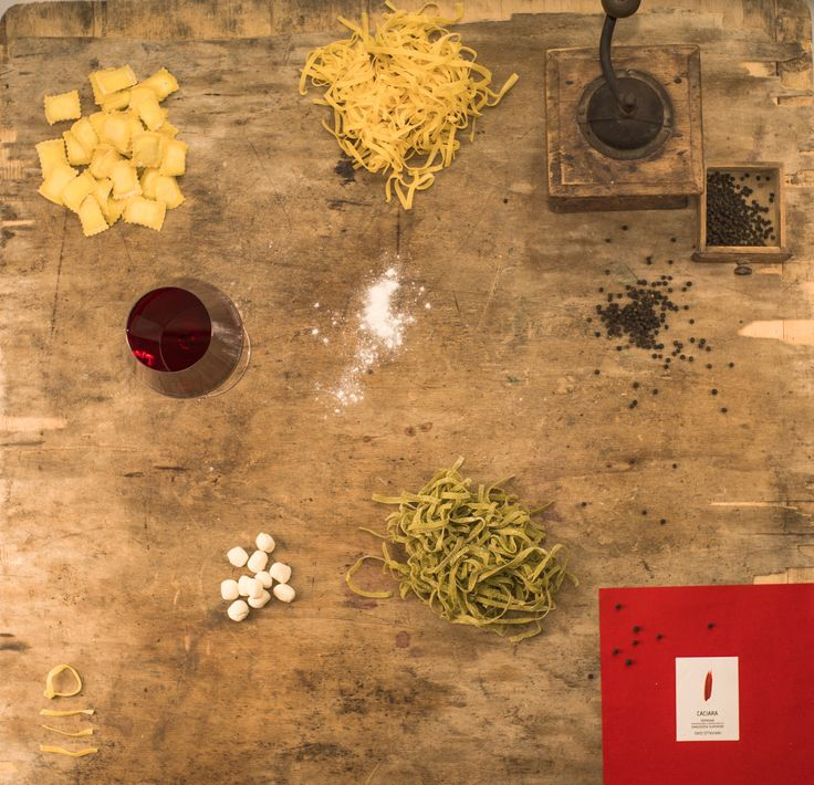 #caciara Sangiovese from Romagna, Italy. The handmade pasta, the joy of people dining around a table, that's what we call #thehappynoise.  Follow the story on www.enioottaviani.it