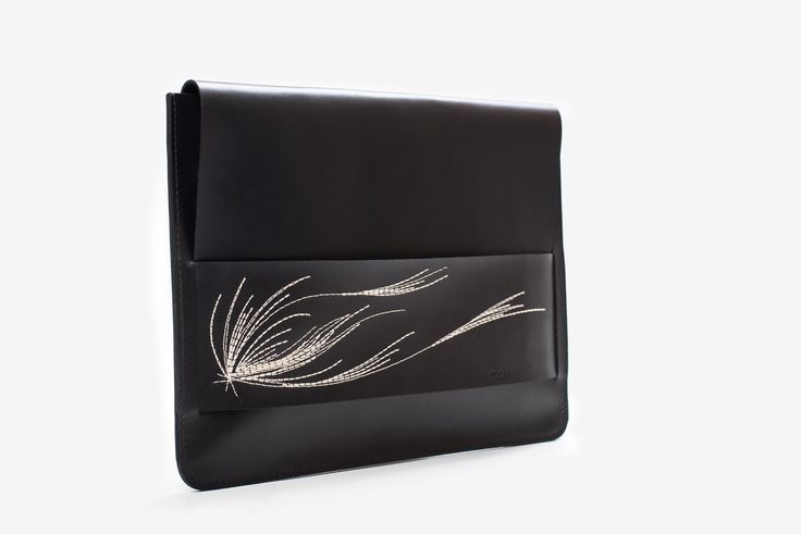 """""""Florence"""" leather clutch"""