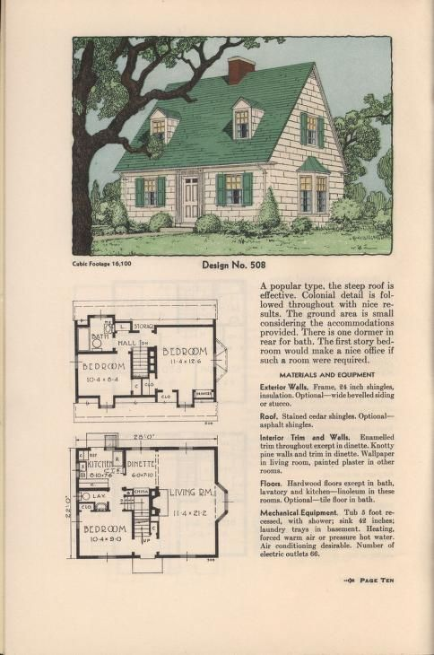 1517 best vintage collection a house in its time images for Practical house plans