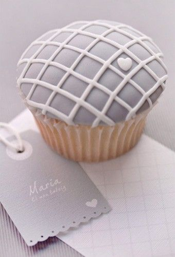 Great idea - have cupcakes decorated to match branding.  Other idea in article - love the packaging for business cards