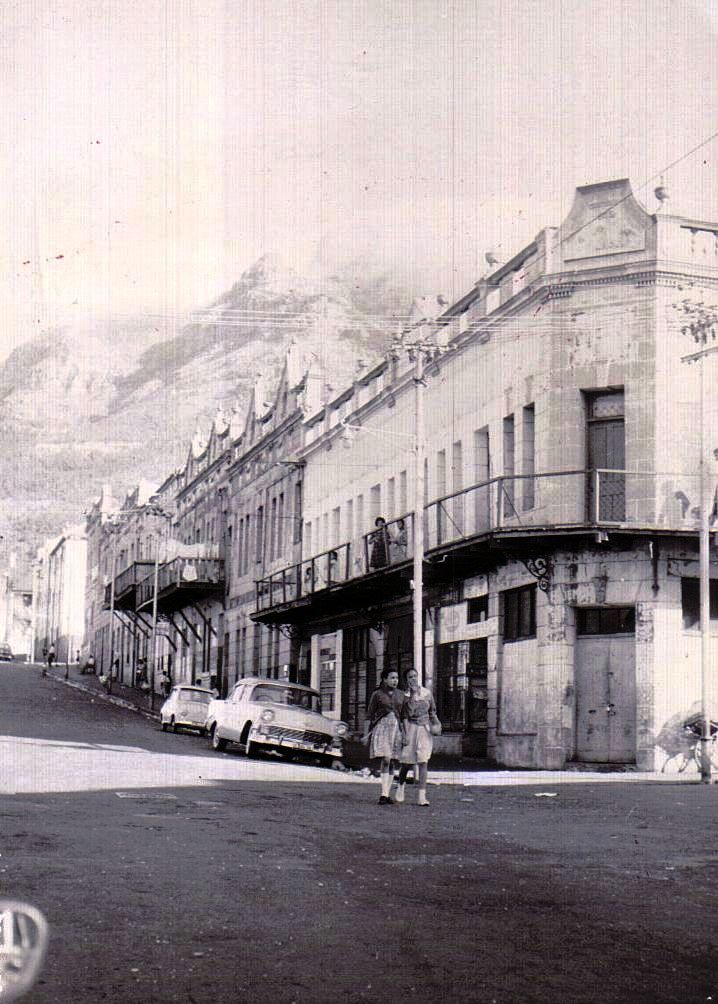 District Six, Cape Town. Photo credit: many, many moons ago, taken by my paternal grandfather.