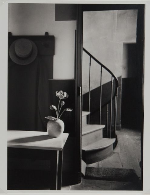 Kertész, André Culture:	American, born in Hungary (1894-1985) Title:	Chez Mondrian Date Made:	1926 (later print?) Type:	Photograph Materials:	gelatin silver print