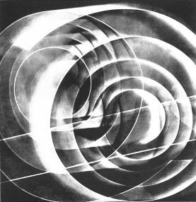 Luigi Veronesi, Fotogramm auf Papier, 1936