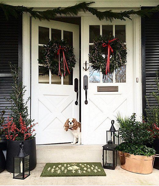 Swoon Worthy Christmas House Tour: 1000+ Ideas About All Season Porch On Pinterest