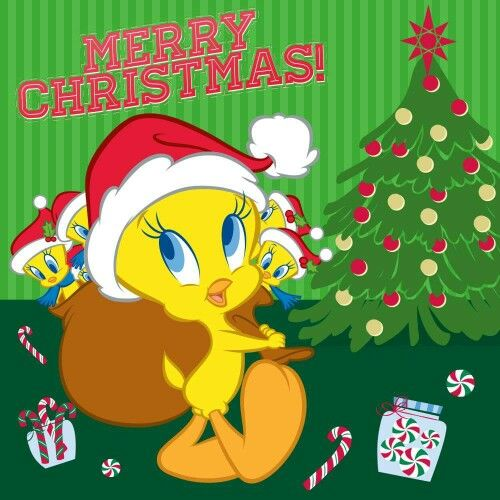 Merry Christmas Tweety
