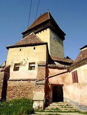 Ighiş, Biserica evanghelică fortificată fortificată, Foto: Fejes István