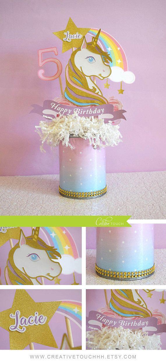 Unicorn Centerpiece, Unicorn Birthday, Unicorn Party, Unicorn  Decoration, Unicorn Decor, Unicorn Topper, Unicorn Celebration, Gold,  Silver #unicorn #centerpiece