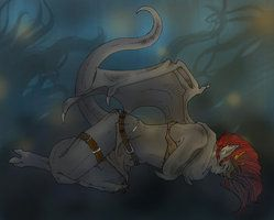 -PS7 - Demona Sleeps...- by IAshPawI
