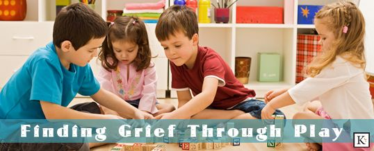 Coping with Grief through Play  Repinned by www.pinterest.com/hopscotchandh Follow all our boards!