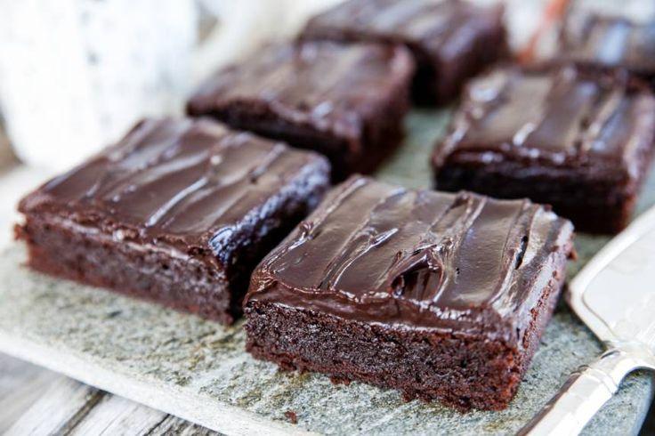 Recept på Brownie som på café! | Tidningen Hembakat » Fredriks Fika | Bloglovin'