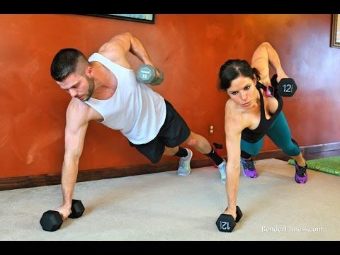 20 Minute Boot Camp: Full Body Fat Burning Workout - YouTube
