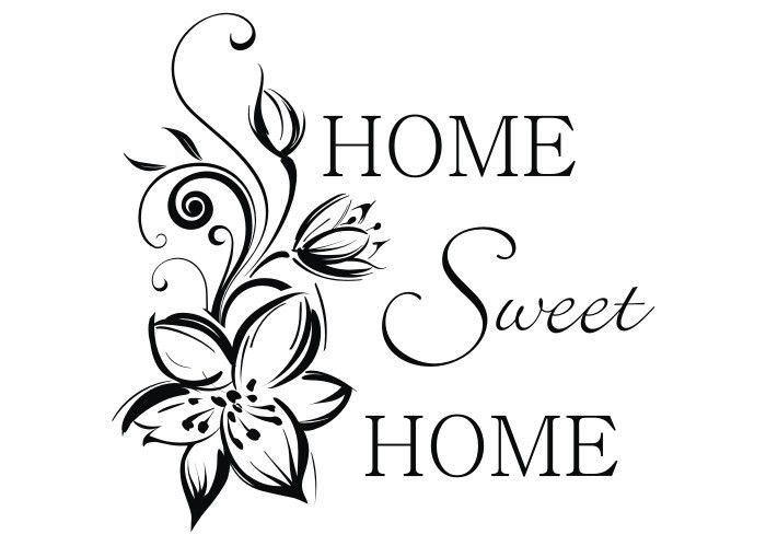 Wall Stickers home sweet home - Pesquisa Google