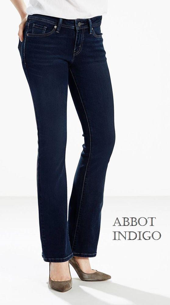 6d570580ce272 NWT Women Levi s 529 Curvy Bootcut Jeans 4 Colors Fast Priority Ship  Levis