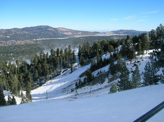 Snow boarded on Big Bear Mountain.  Big Bear CA