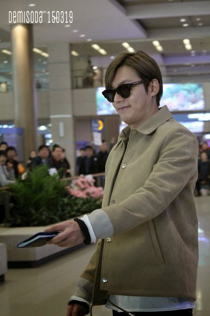 Arrival, Incheon International Airport - 19.03.2015