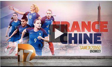 France - Chine - Match de préparation JO 2016 - http://cpasbien.pl/france-chine-match-de-preparation-jo-2016/