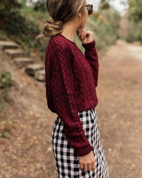 21 Niedliche Outfits zu Kopieren in Diesem Winter
