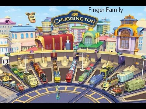 Chuggington Finger Family | Nursery Rhyme for Children | Dady Finger Nur...