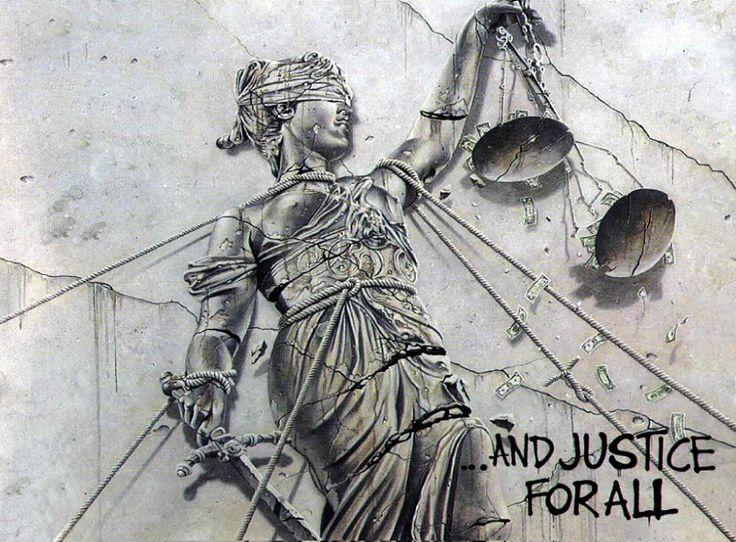 ..and Justice for all! Cover art by Stephen Gorman, copertina dell'omonimo album dei Mettalica del 1988