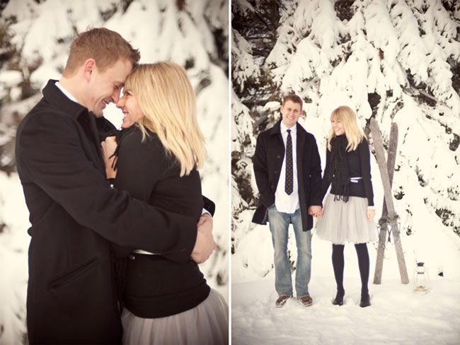 Abbie Engagement // Winter engagement