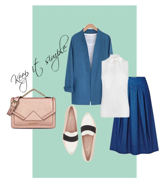 """""""Keep it simple"""" by stylove-ewolucje on Polyvore featuring moda, MICHAEL Michael Kors, Kate Spade, Karl Lagerfeld, simple, business i smart"""