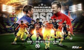Bayern Munich, Barcelona, Borussia Dortmund, dan Real Madrid memastikan diri lolos ke semifinal Liga Champions 2012/13. Dua partai empat besar masih akan ditentukan lewat drawing oleh UEFA.