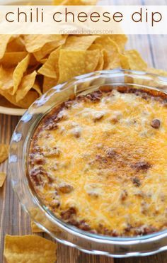 ~Our Family Rating 10 ✔~ I use the cream cheese but with Stagg Dynamite Chili and shredded Habanero cheese and bake it in the oven until bubbly. Serve with Tostitos scoops ✔