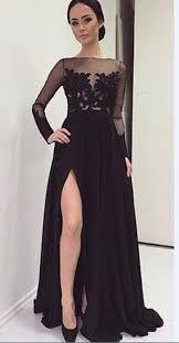 Resultado de imagen de vestidos largos de manga larga encaje