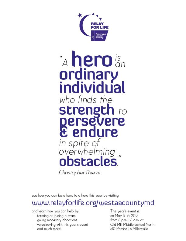 60 Best Relay For Life Images On Pinterest Relay For Life Cure Beauteous Relay For Life Quotes