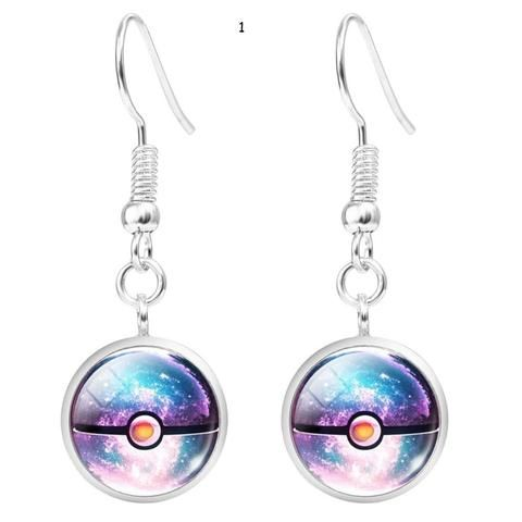 """""""FREE"""" Pokemon Silver Plated Earrings - JUST PAY SHIPPING !!!"""