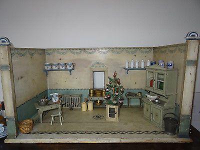 Fränkische puppenküche um 1900