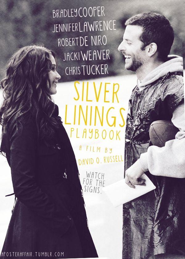 Silver Linings Playbook (2012)    Director: David O. Russell    Bradley Cooper, Jennifer Lawrence, Robert De Niro, Jacki Weaver, Chris Tucker, Julia Stiles