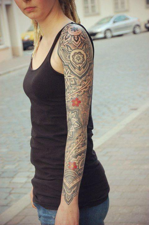 55 Arm Tattoos Girls #tattoo #girl #arm #sleeve