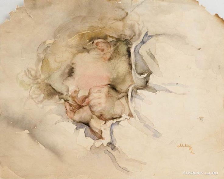 Мыслина Мария Владимировна (Россия, 1901-1974) часть II, акварели - «Впечатления…