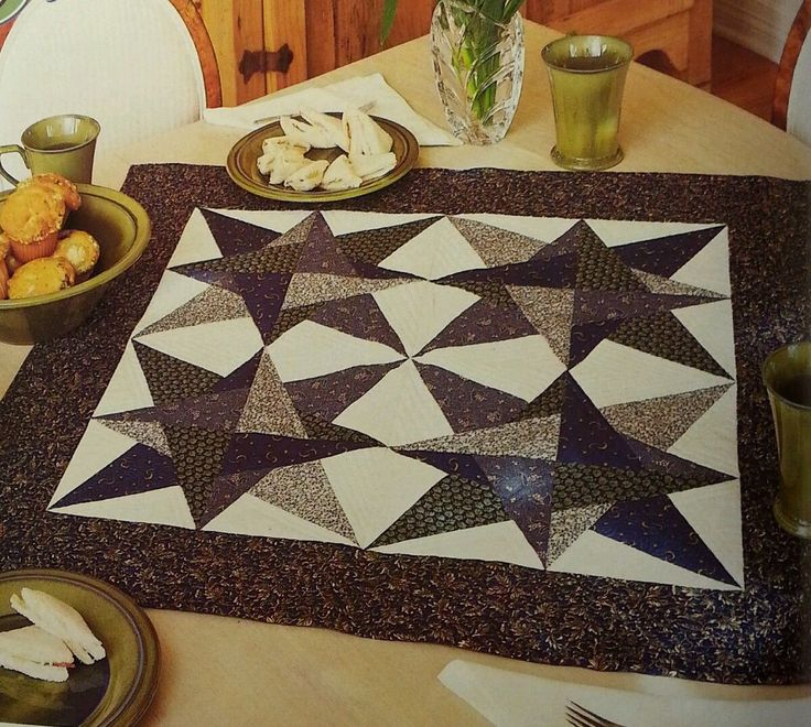 "This is a very cute quilt pattern removed from a vintage magazine. It includes directions, templates, and a list of materials needed to make this quilt. Not too difficult with paper piecing. Size is 32"" x 32"" or any size you want. Excellent condition.     From a non smoking home. Thanks for looking. 