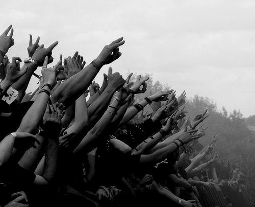 Concert Black and White Photography | | Crowds ...