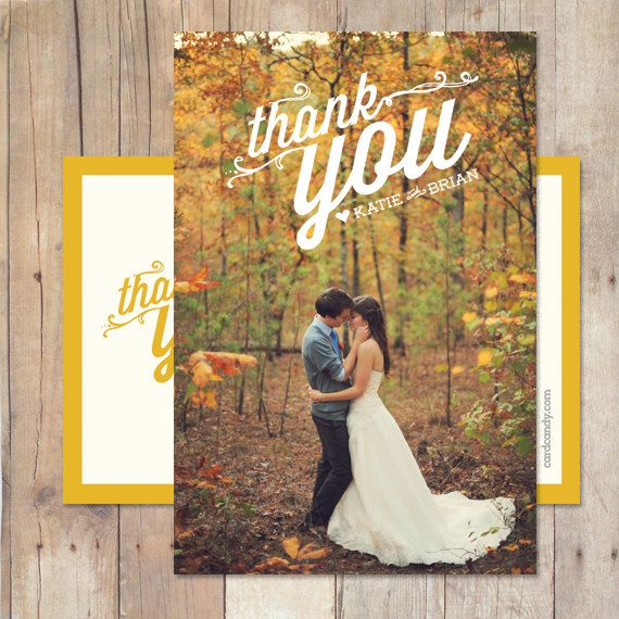 Wedding Thank You Wedding Thank You Card von cardcandydotcom, $15.00