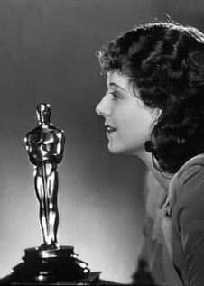 Janet Gaynor. First academy award winner. 1929.