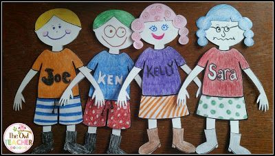 This is a FREE and fun activity to help get to know each other and to differentiate!  Students build paper dolls based on their learning styles and preferences.  It's a great way to show we are all different!