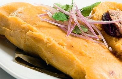 Tamales Peruanos | Peruvian Food Every Sunday after Church we would buy tamales for breakfast. The best!
