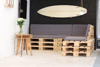 Tuto: un canapé d'angle en palettes