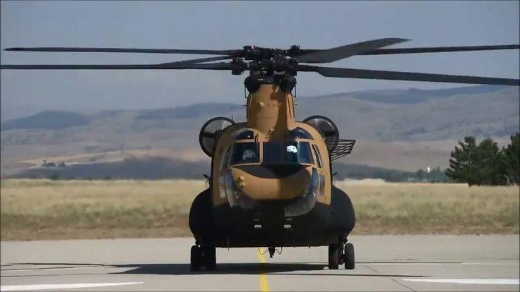 Türkiye'nin Yeni Uçan Kaleleri - CH-47 Chinook