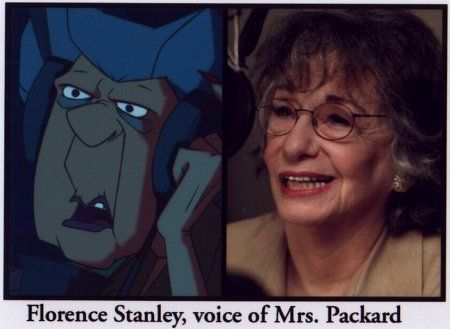 Florence Stanley in Atlantis: The Lost Empire